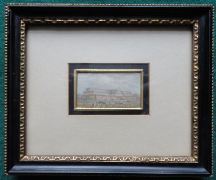 Antique Miniature Painting Crystal Palace Hyde Park Grand International Exhibit